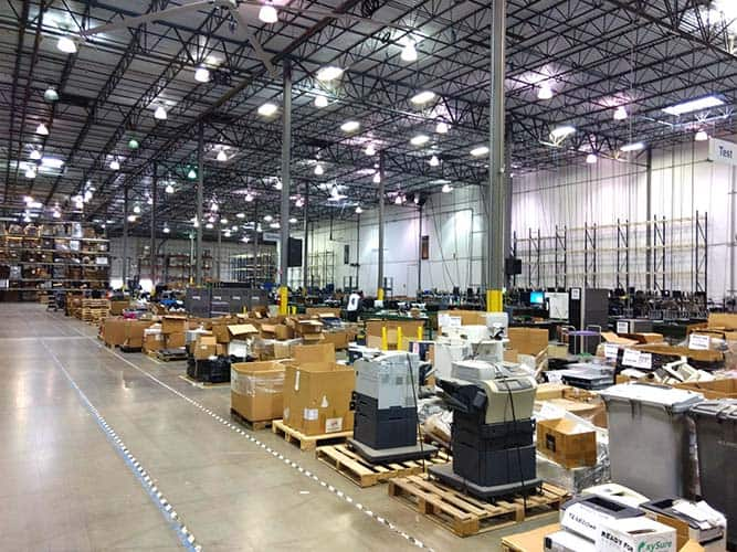 facility shutdown and migration service warehouse